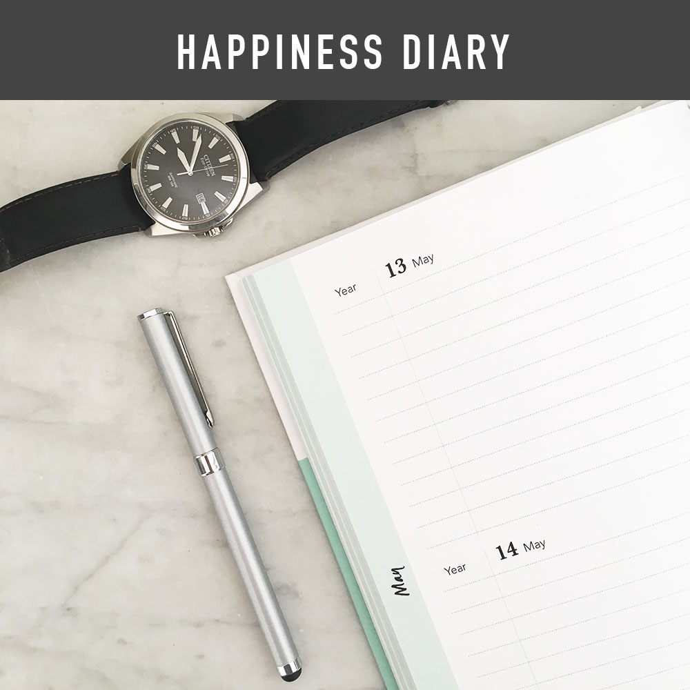 The Happiness Diary within The Mood Booster Journal is the perfect place to continually add happy moments, thoughts and experiences. The idea is as you continually add to the diary you will eventually have a 'year of happiness' so any date you look at there will be a happy memory. What a great way to add some sunshine into those those dull days.