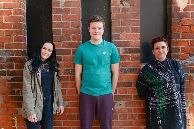Meet some of the team behind #REMOVED part of Young at Art's #BelfastChildrensFestival. . Fionnuala Kennedy | Writer. Conor J Maguire | Actor. Emma Jordan | Director. . Starting this Thursday at 7:30pm.  Brian Friel Theatre, Belfast.  Tickets | @youngatartbelfast . 📸 Matt Curry