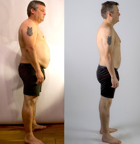 Jon slimmed down from 110kg to 88.8kg in 12 weeks on Metabolic Balance®.
