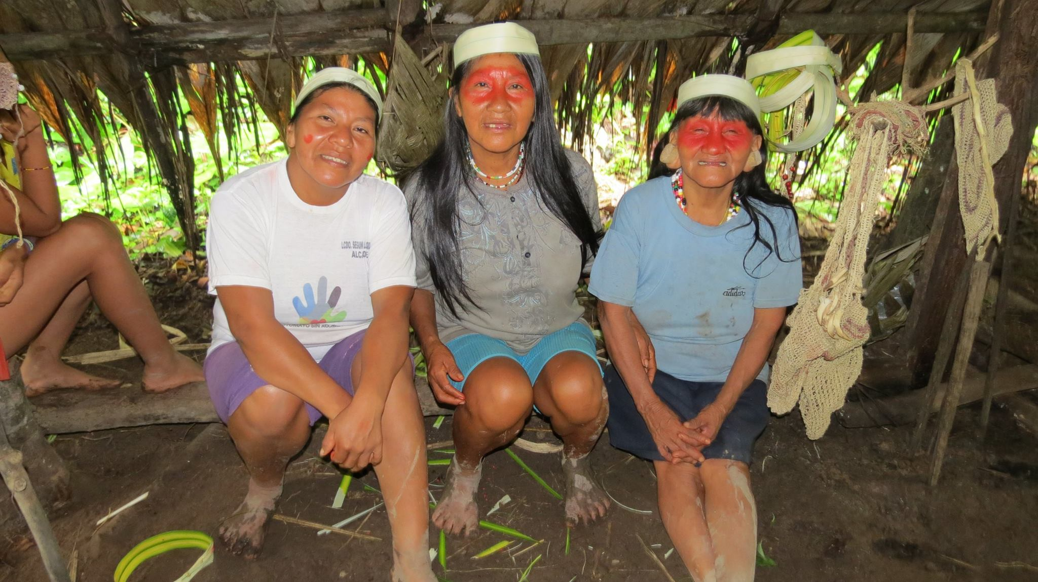 Village life for women in the Ecuadorian Amazon, where community is at the heart of Huaorani tribal living.