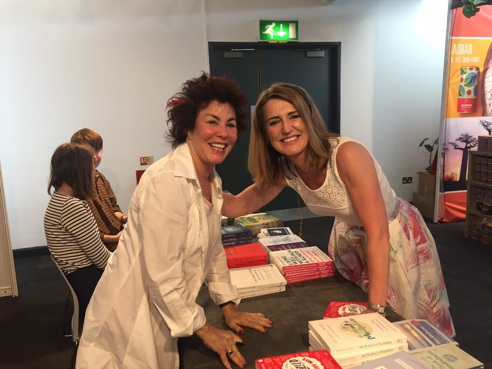 Adele and Ruby Wax at the Mindful Living Show in London in June. Following a successful pilot, Frazzled Cafe launched officially in March 2017, and is up and running in Brighton, London and Cambridge in partnership with M&S. More openings are planned in Leeds, Canterbury, Newcastle, Norwich, Nottingham and Staffordshire over the coming year. Adele is planning to be involved in the Brighton initiative and will be supporting the second Mindful Living Show in 2018.