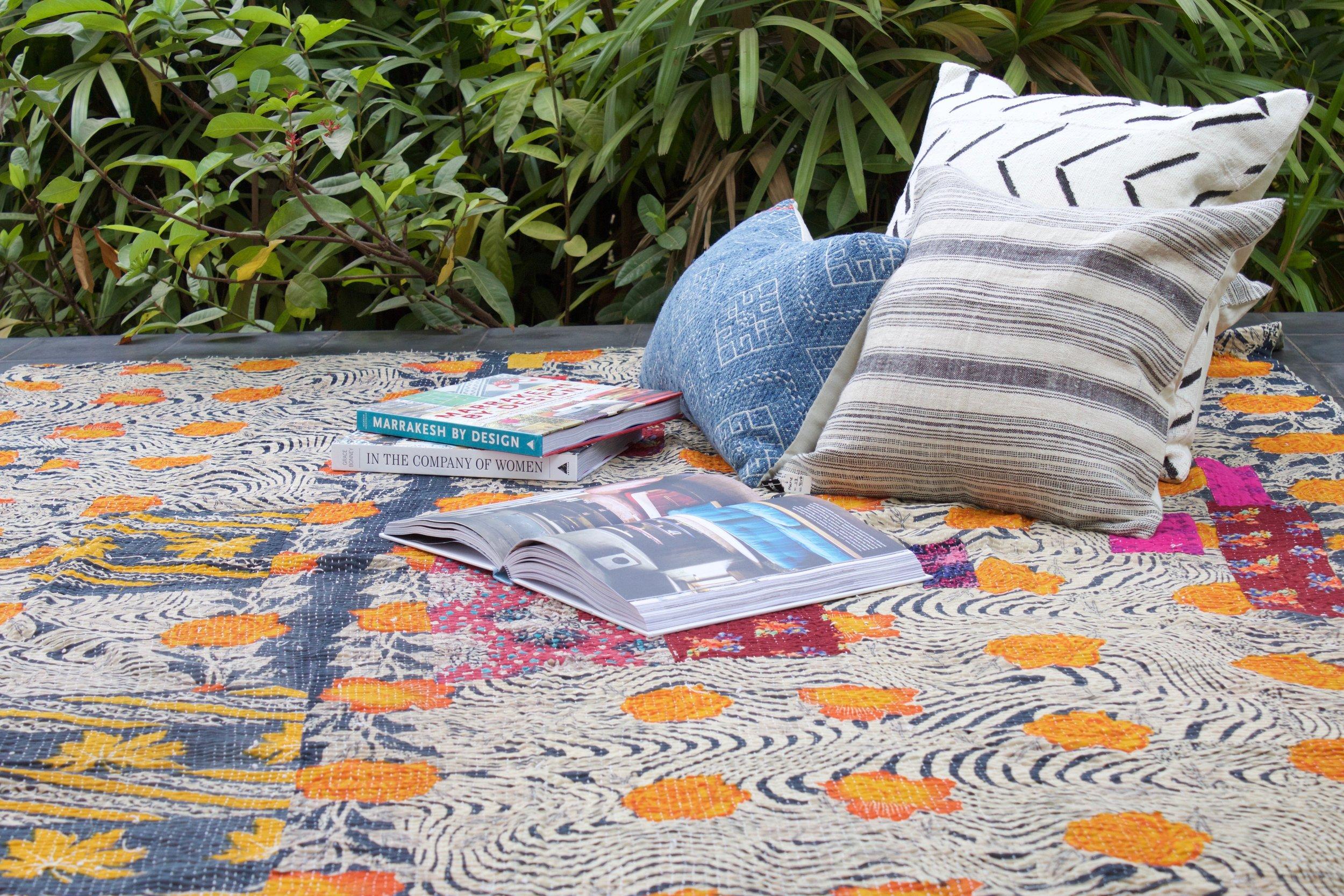 Kantha Quilts -