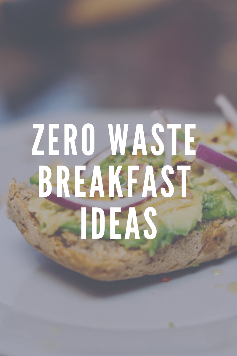 Copy of Copy of A Zero Waste Life. Zero Waste Breakfast Ideas