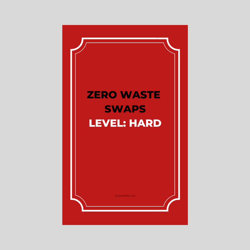 A Zero Waste Life. Zero Waste Swaps