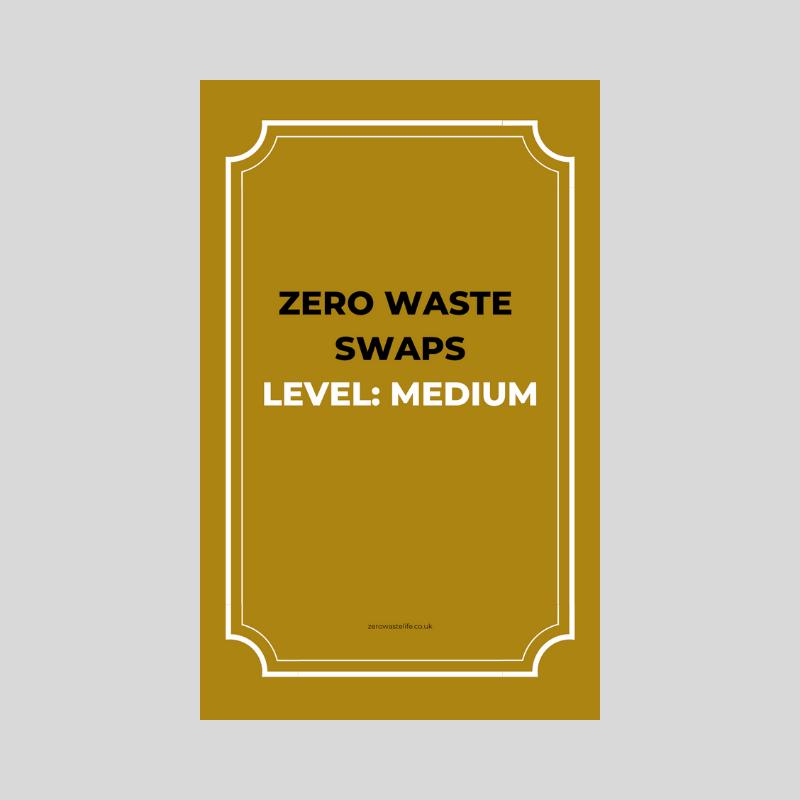 A Zero Waste Life. Medium