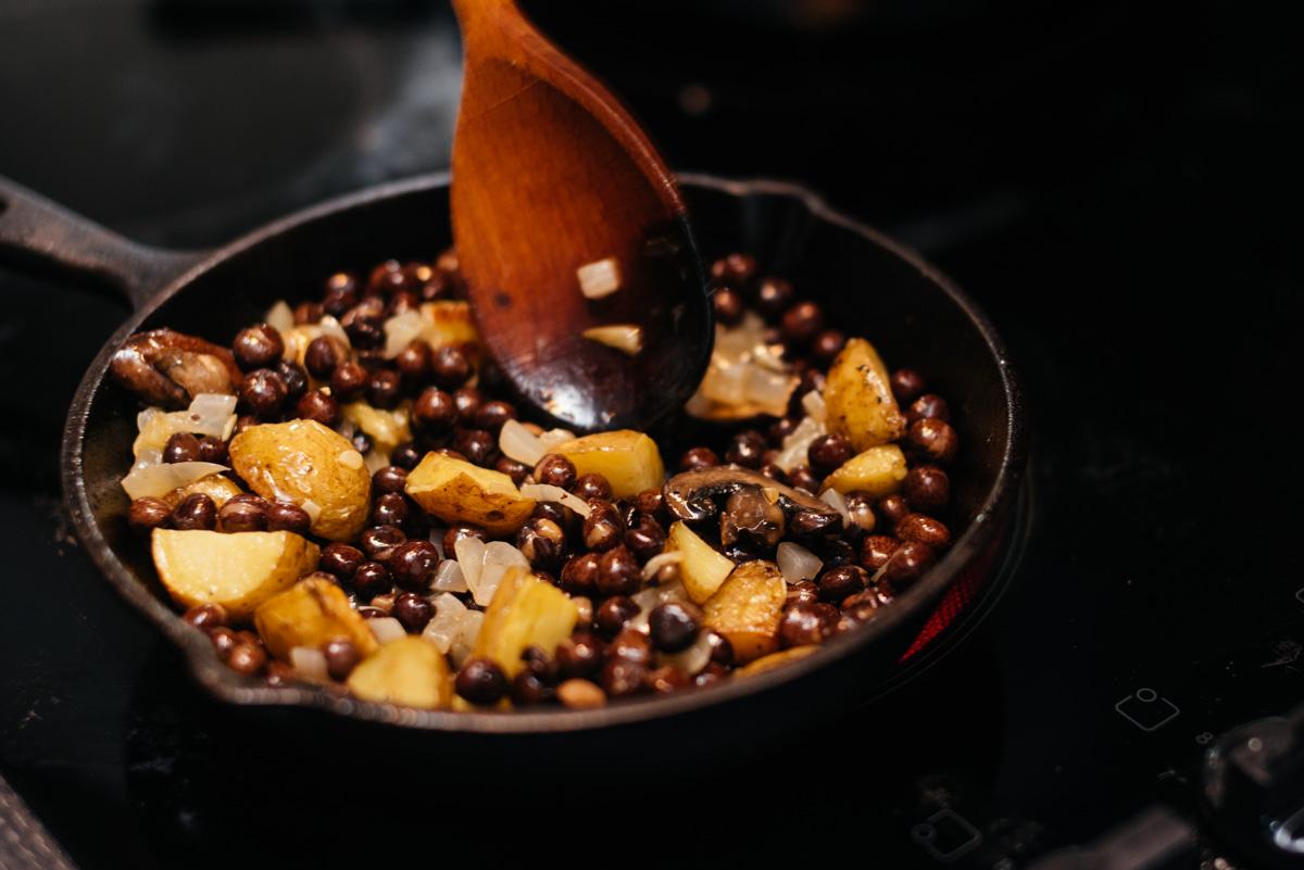 A Zero Waste Life. Bean and Potato Curry