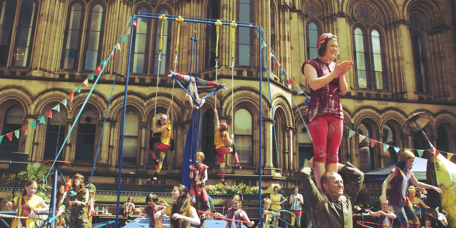 The Circus House  at Manchester Day 2014.