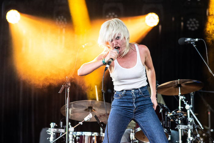 AMYL & THE SNIFFERS by Ben Hunt.