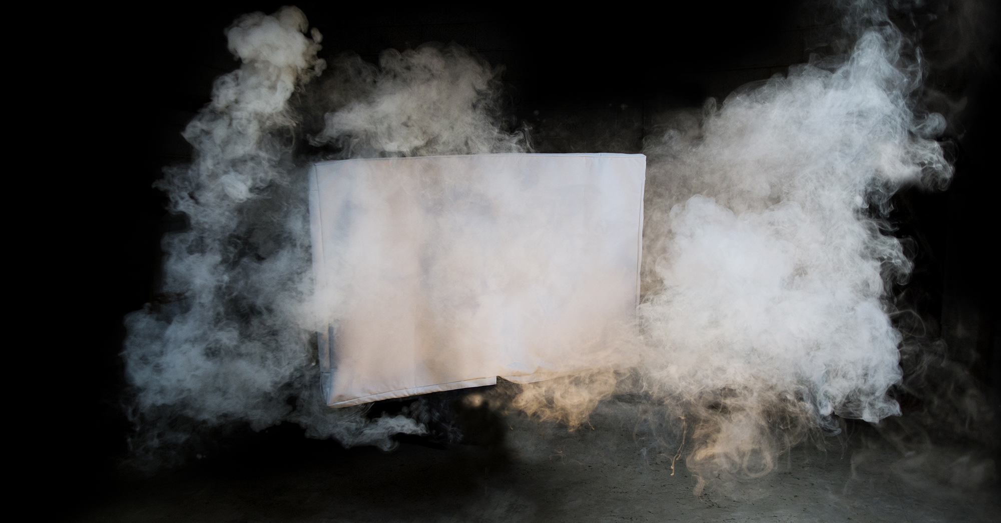 TV Cover that blocks dust