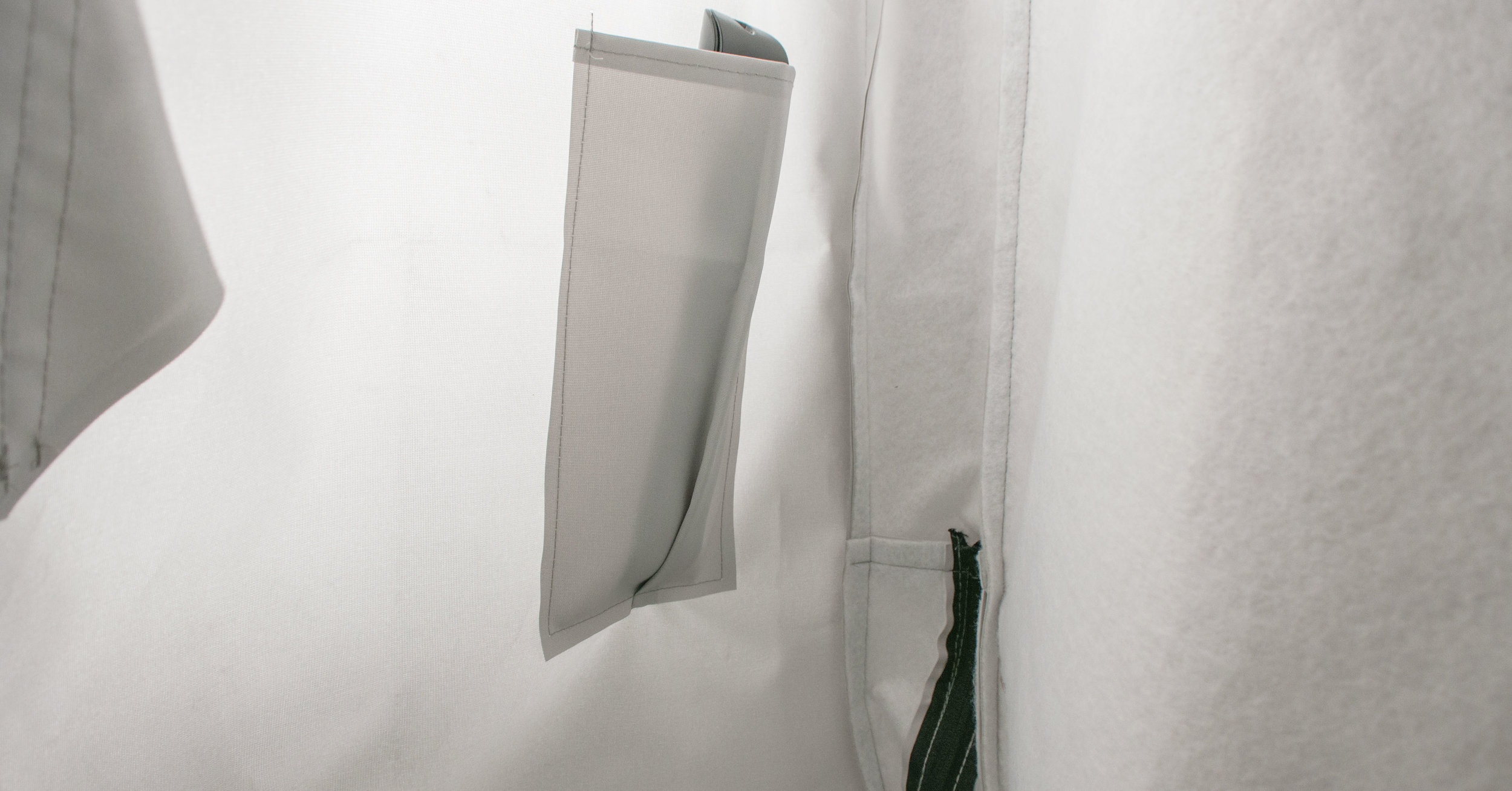 TV Cover with remote pocket