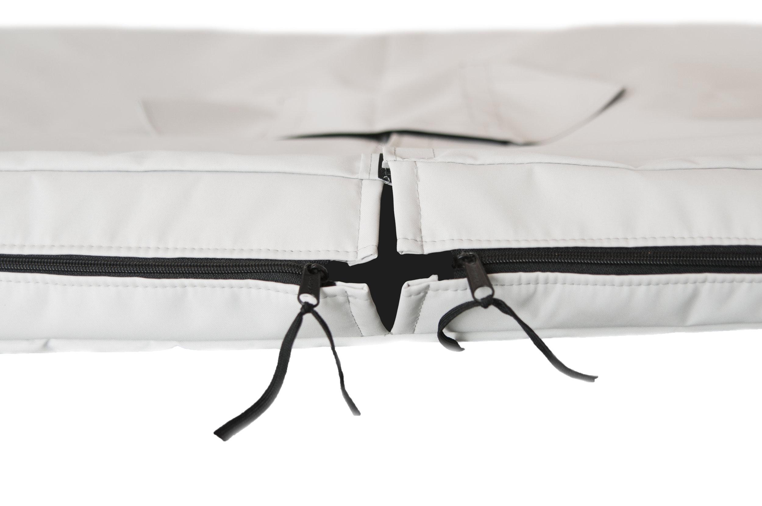 Zipper Flaps