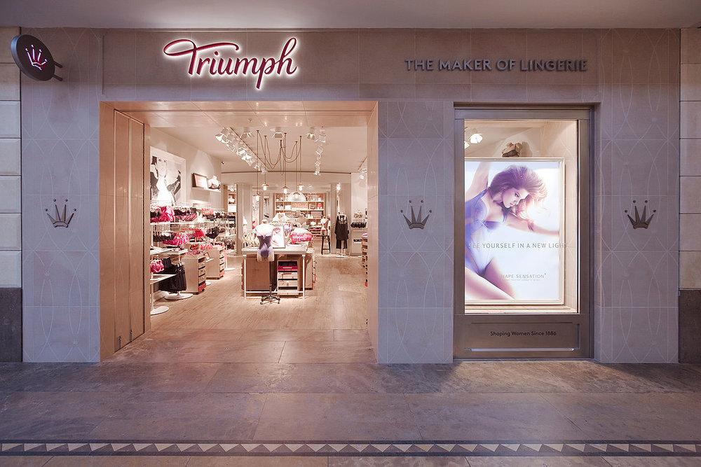 Triumph Lingerie storefront