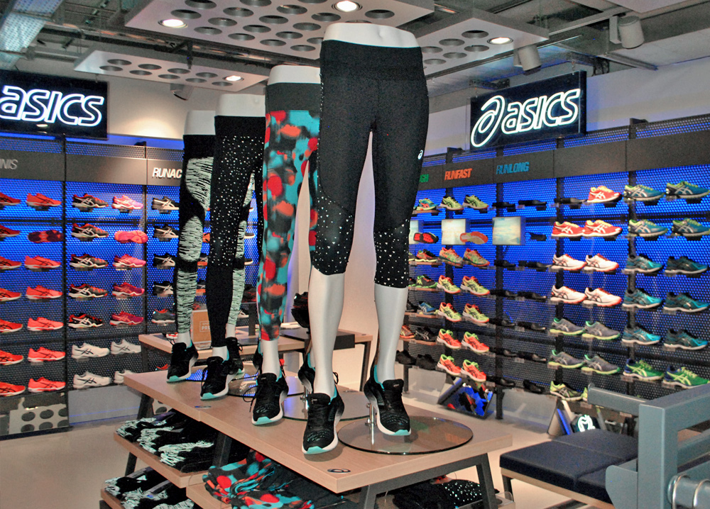 Asics shop in shop