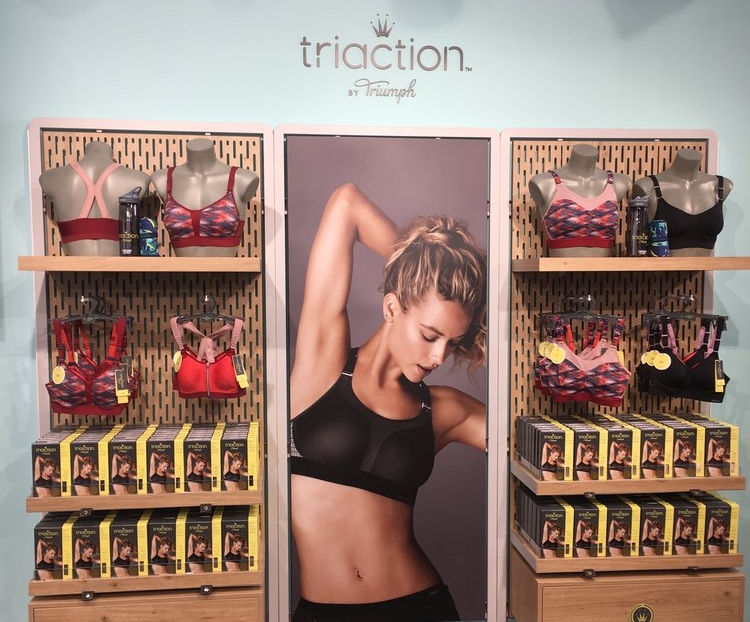 Triaction by Triumph at ISPO