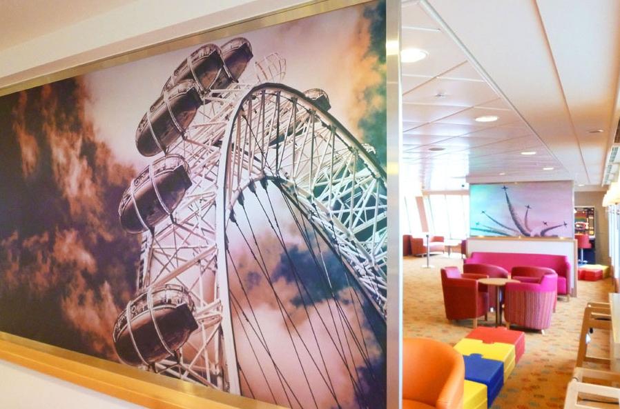 P&O Ferries Graphic Design