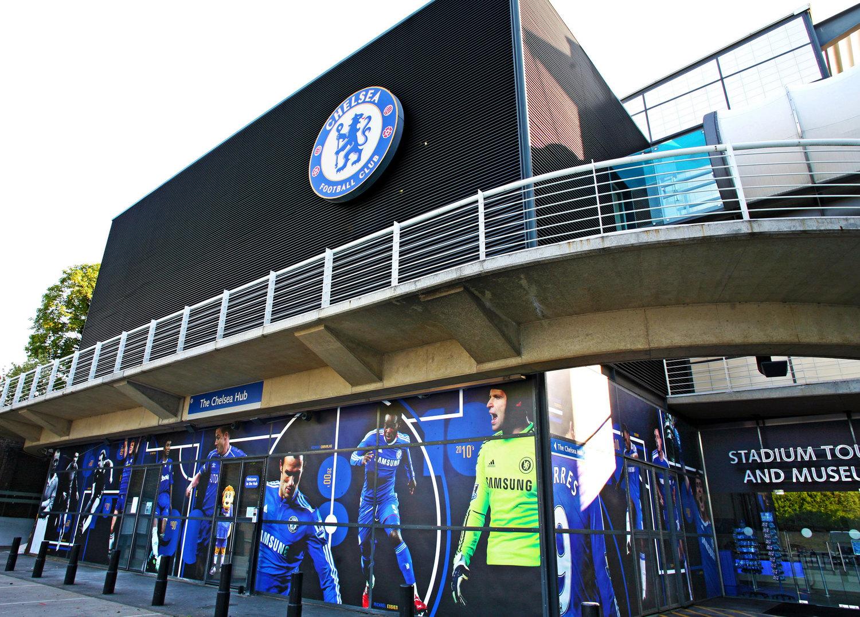 Large-format impactful graphics at Chelsea F.C's Museum & stadium tours