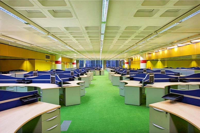 Willis Towers Watson offices, Ipswich - the first to go open-plan.