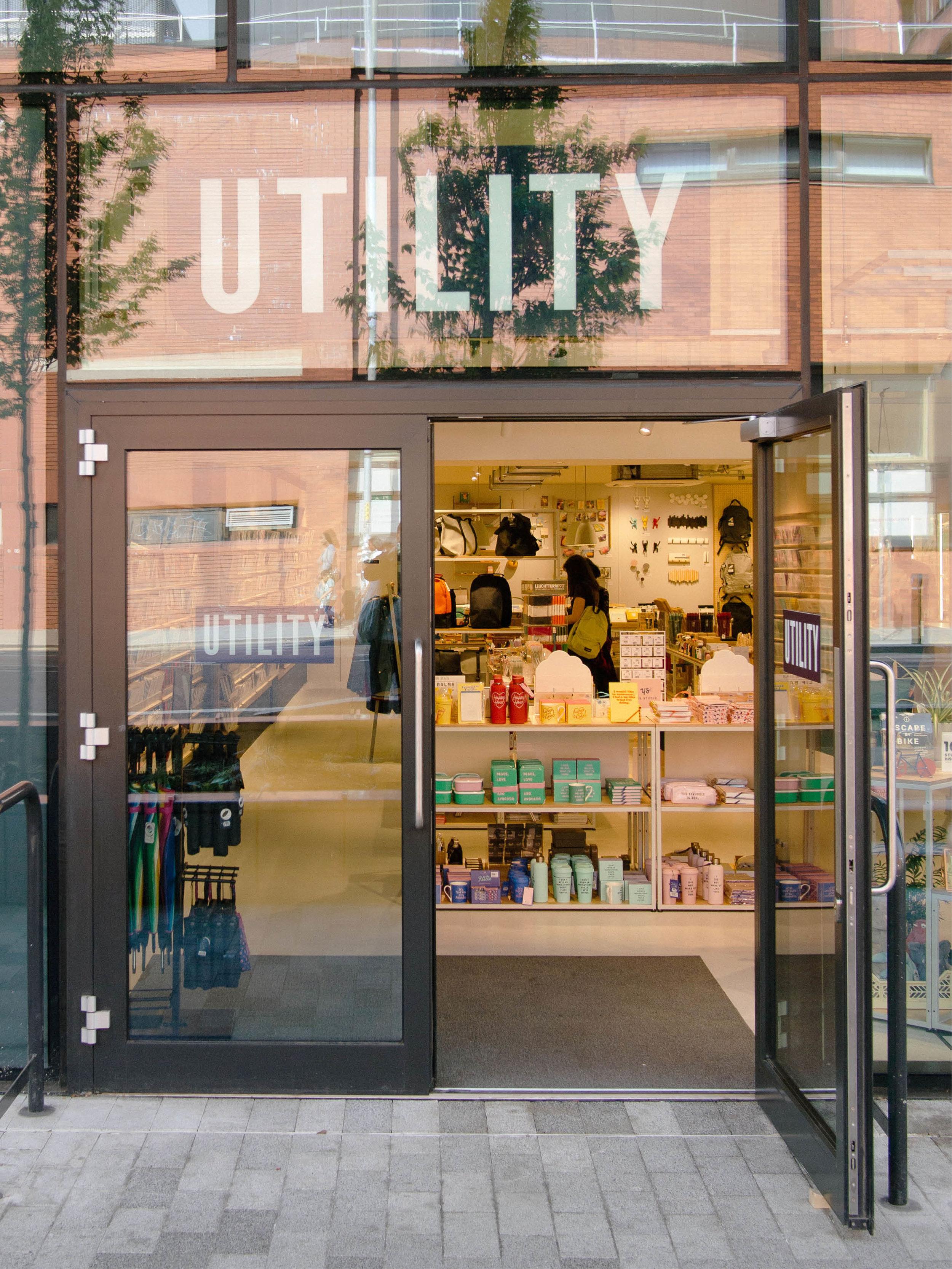 utility manchester retail design interior design commercial