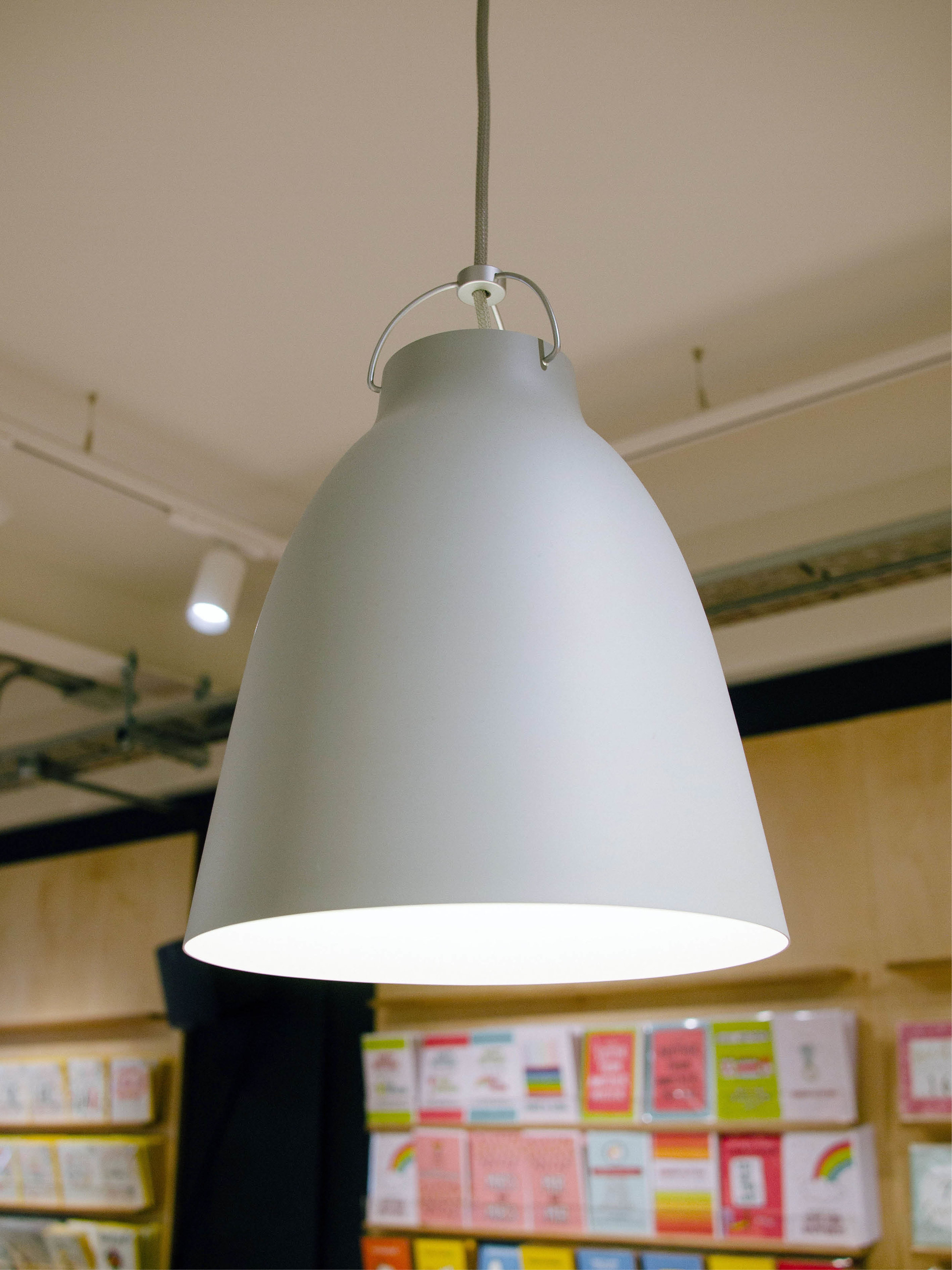 retail design utility manchester store design graphics agency lighting industrial simplistic