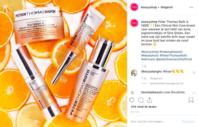 Instagram Post on Boozyshop   July 2019