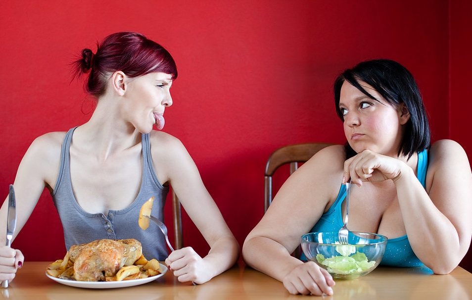 Why can some people eat whatever they want...and not put on weight? -