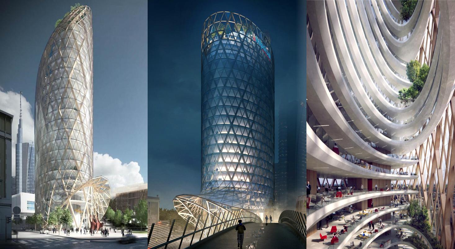 UNIPOLSAI HEADQUARTER - Skyscraper office building in Milano City