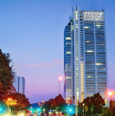 SAN PAOLO TOWER - THE 3RD TALLEST BUILDING OF TORINO