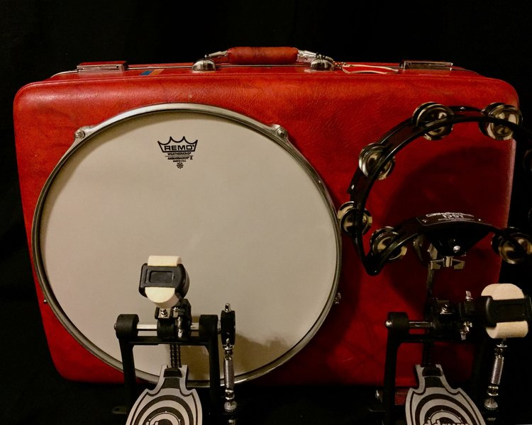 """- 16"""" american touristerI'M OBSESSED WITH MY DRUM! AMAZING SOUND, VERY STURDY, WELL MADE PRODUCT! CAN'T WAIT TO START PLAYING LIVE GIGS WITH THIS AWESOME NEW ADDITION TO MY SOUND!MAURY Z. - TEXAS, JANUARY 18, 2018"""
