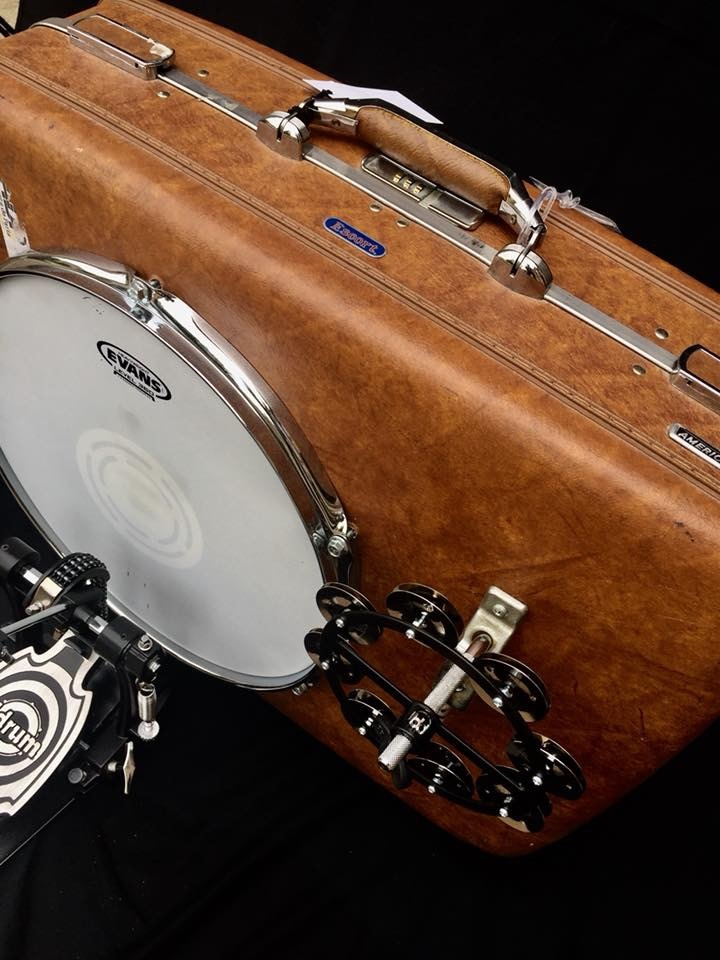 """- 16"""" american touristerTHESE DRUMS ARE EXCELLENT FOR YOUR ONE MAN BAND GIGS. THEY ARE VERY FUNCTIONAL, PORTABLE AND THEY SOUND GREAT.BILL PROVIDES TOP NOTCH SERVICE AND WILL MAKE SURE YOU'RE HAPPY WITH YOUR DRUM. I HIGHLY RECOMMEND THESE DRUMS TO ADD A LITTLE EXTRA KICK TO YOUR SET!!AUSTIN P. - TEXAS, JANUARY 17, 2018"""