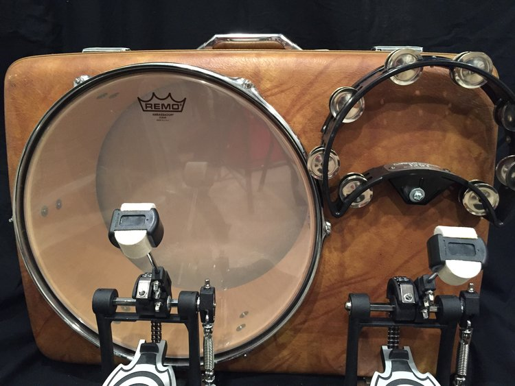 """- 16"""" american touristerREALLY GREAT SUITCASE DRUM, REALLY GREAT HELP SETTING IT UP, THANKS SO MUCH!ROBERT S. - TENNESSEE, JANUARY 13, 2018"""