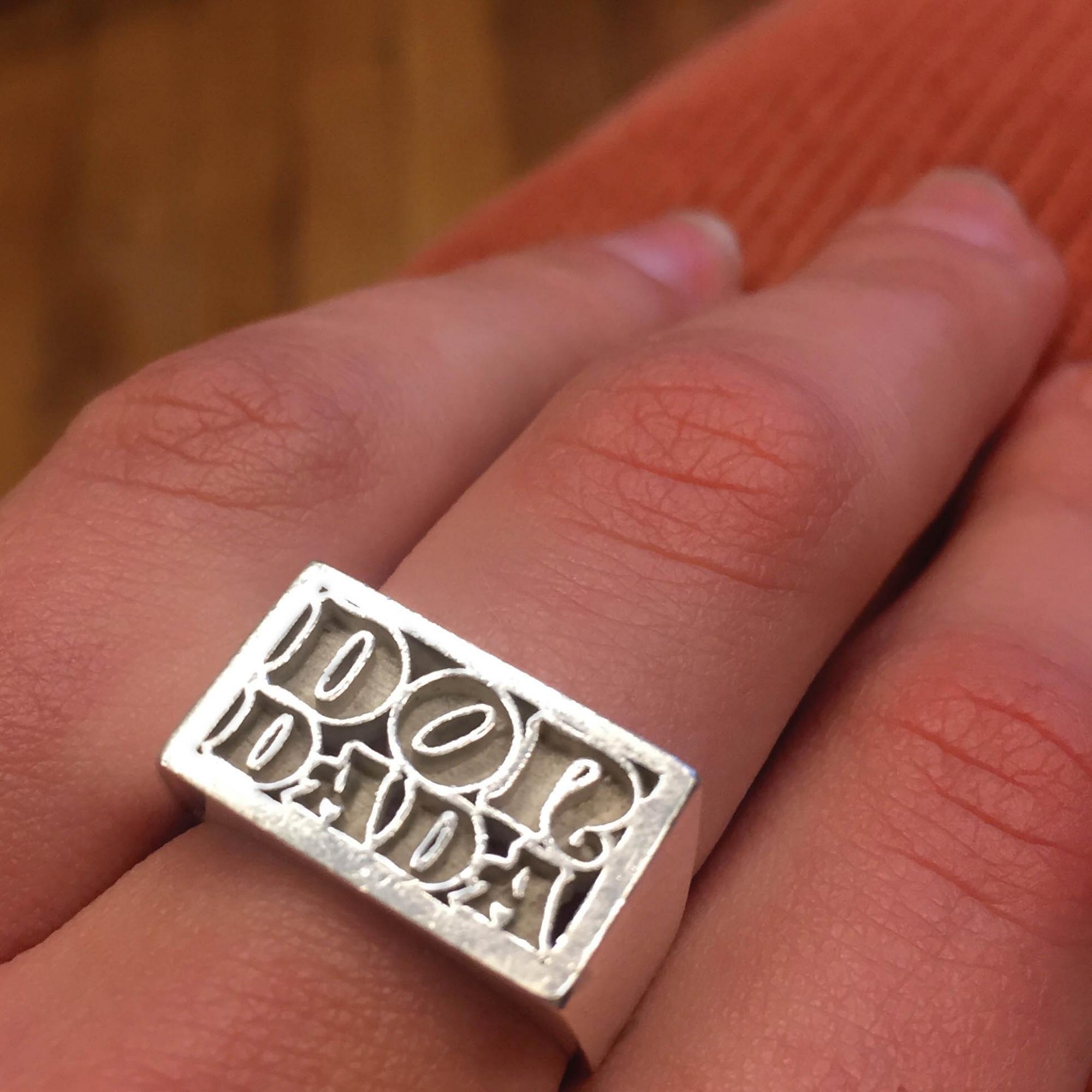 DONDADA RING //    SILVER         http://www.dondada.fr/
