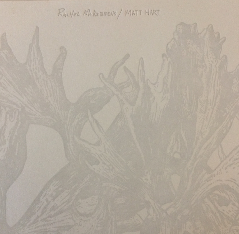 "Split 7"" —  Rachel McKibbens & Matt Hart"