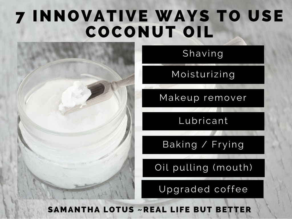 7 ways to use coconut oil