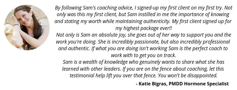 Samantha Lotus Testimonial