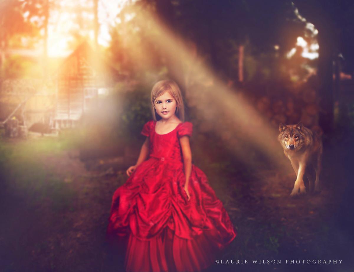 Fantasy Little Red Riding Hood shoot - 2013