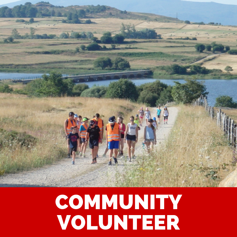 Volunteer in a community for your gap year