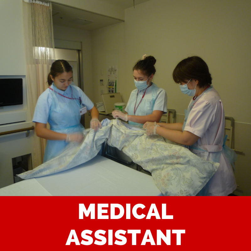 Volunteer as a medical assistant for your gap year