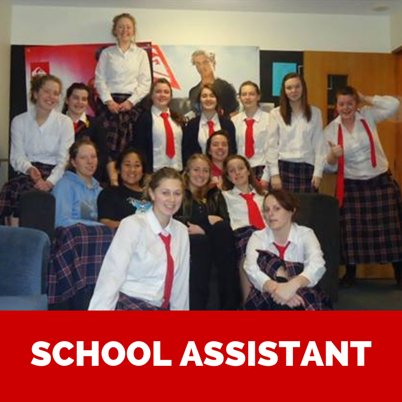 Volunteer as a schools assistant for your gap year
