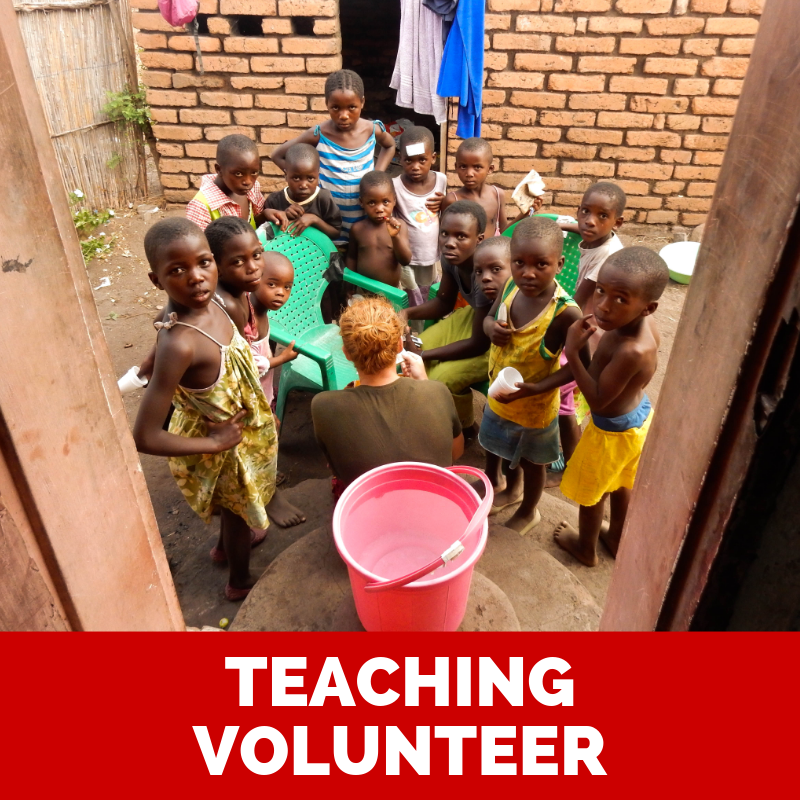 Volunteer as a teacher for your gap year