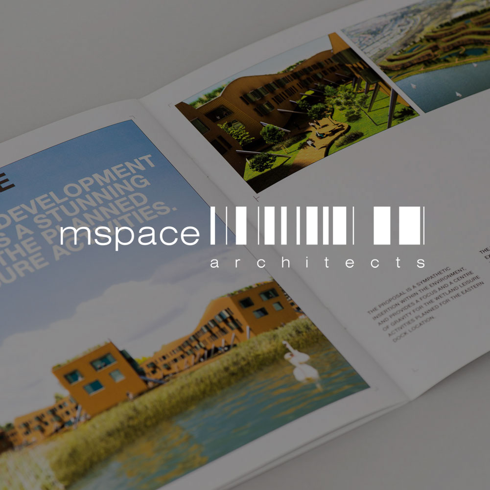 MSPACE ARCHITECTS     Logo and identity design for an innovative, sustainable residential architecture practice