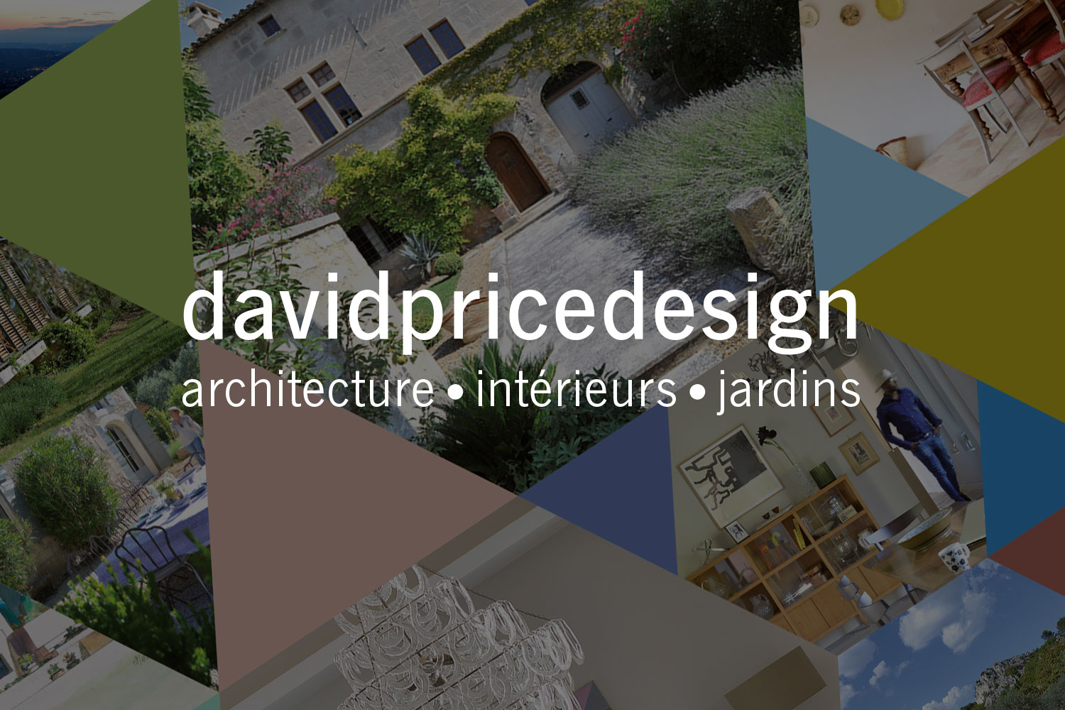 DAVID PRICE DESIGN     A vibrant new look for for one of the most highly-rated architecture and design studios in the South of France