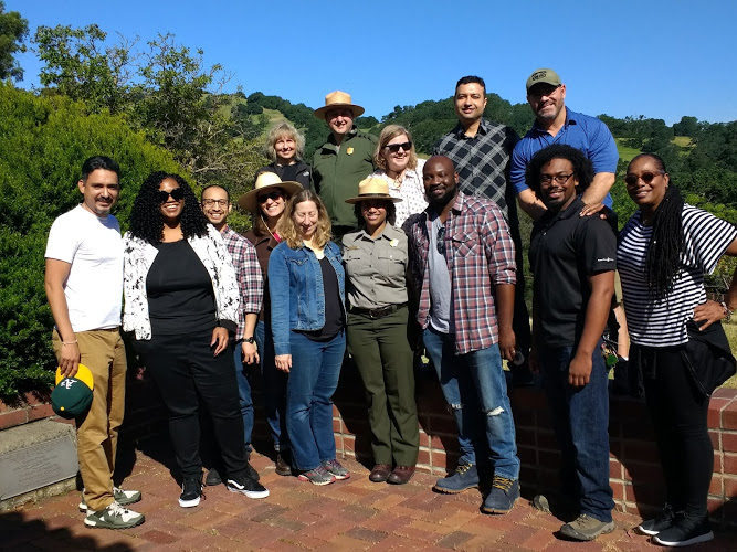 Class of 2019 Retreat at Eugene O'Neill National Historic Site, hosted by the National Park Service