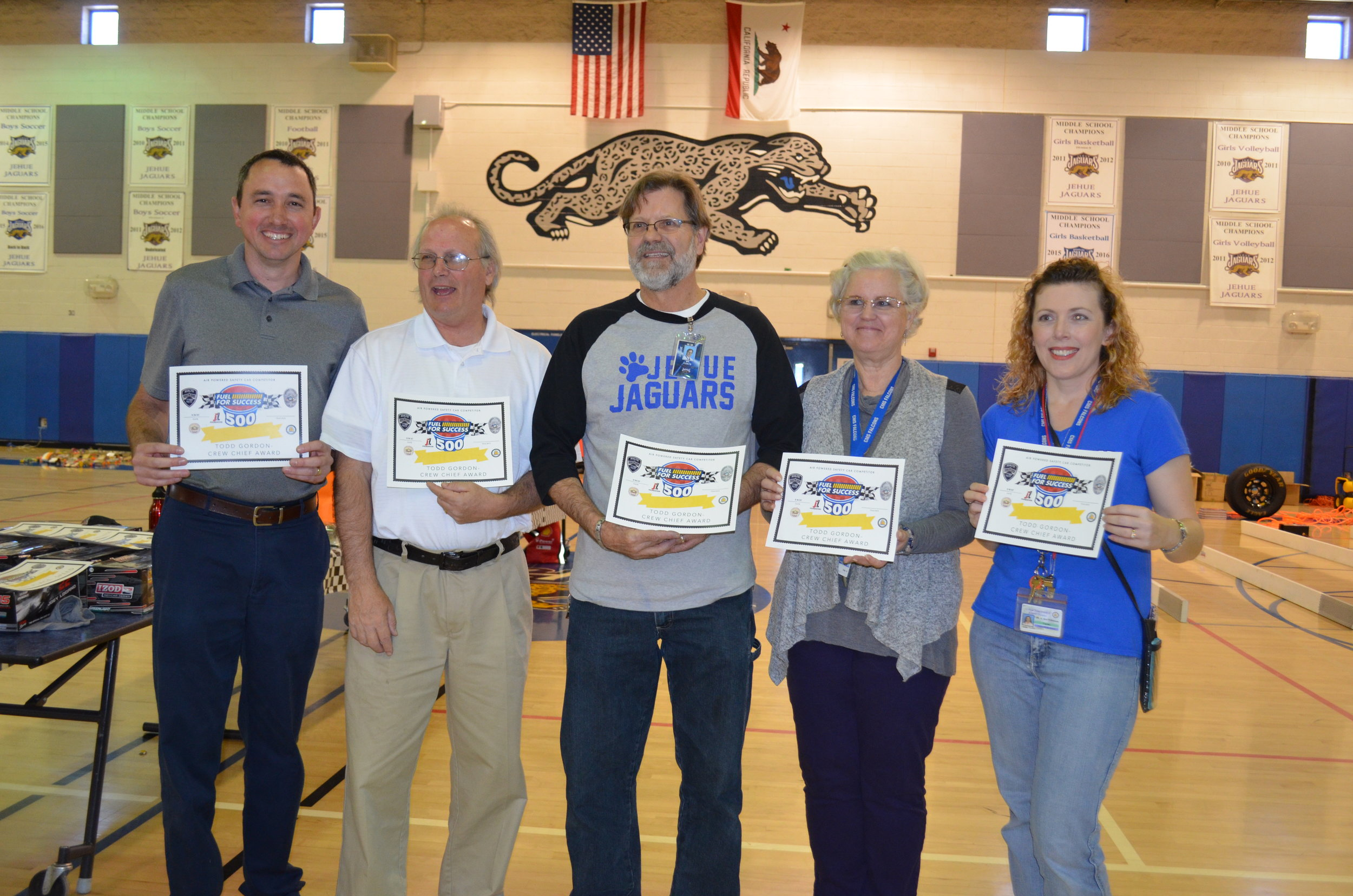 Air Powered Model Car Competition Science Teachers- California 2017