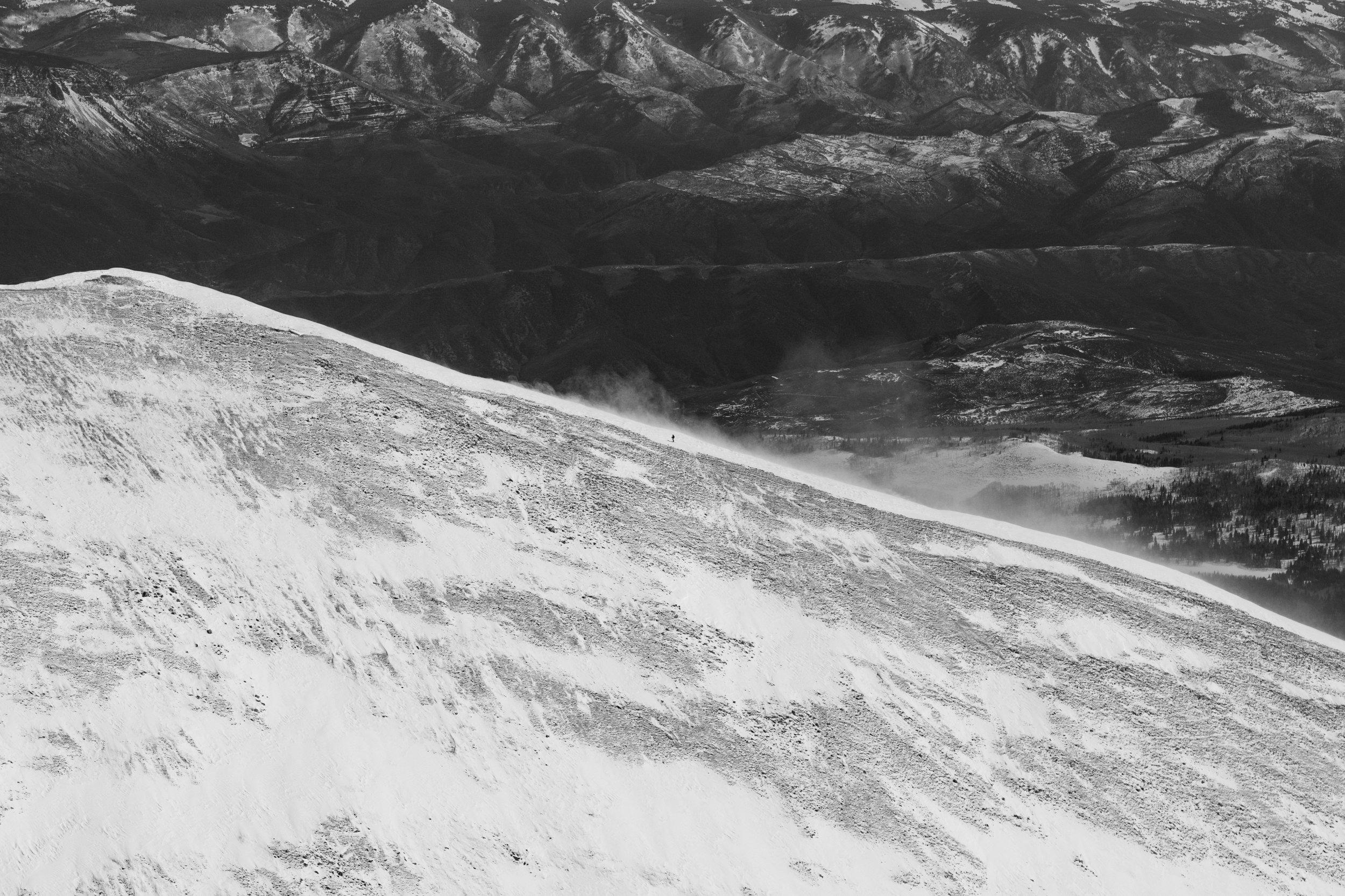 Skinning #2, Mt. Sopris