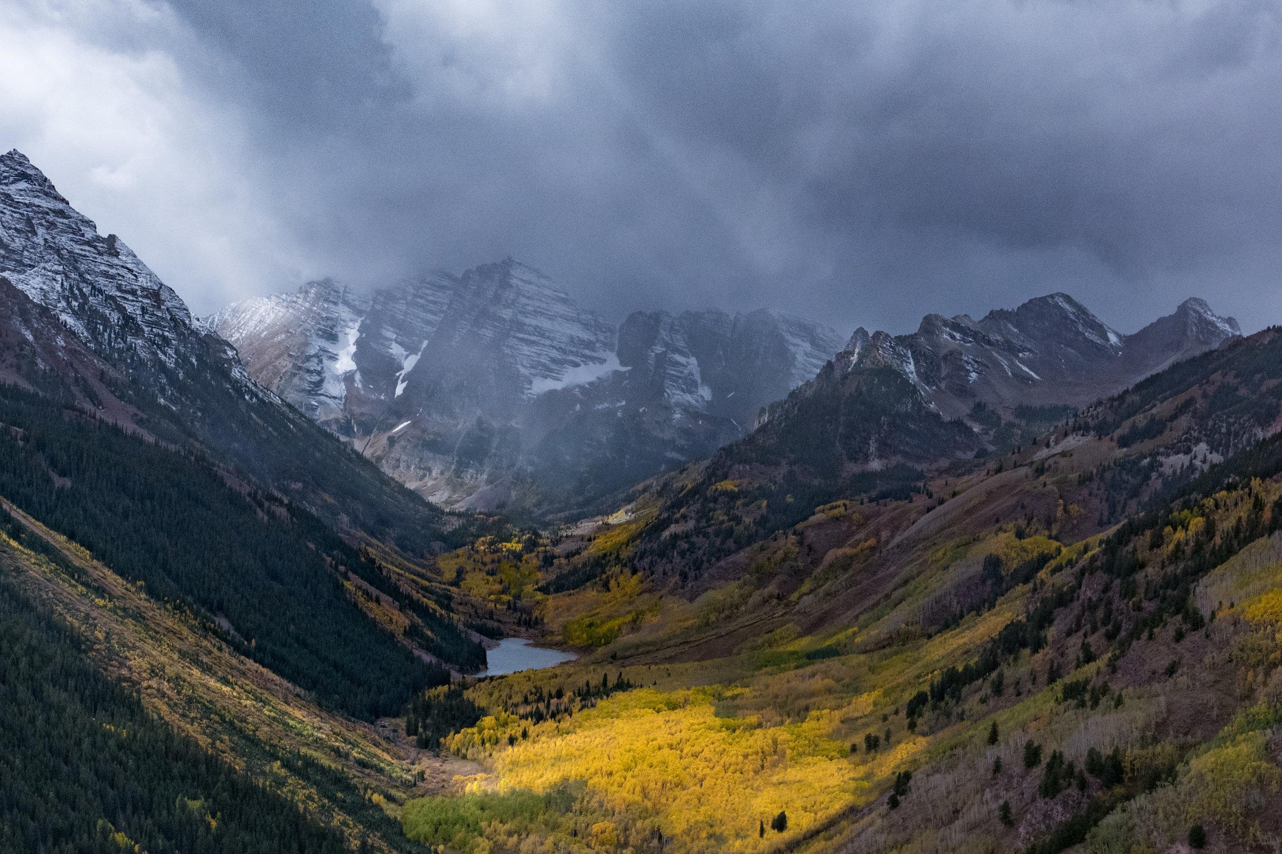 Majesty, Maroon Bells, Aspen, CO