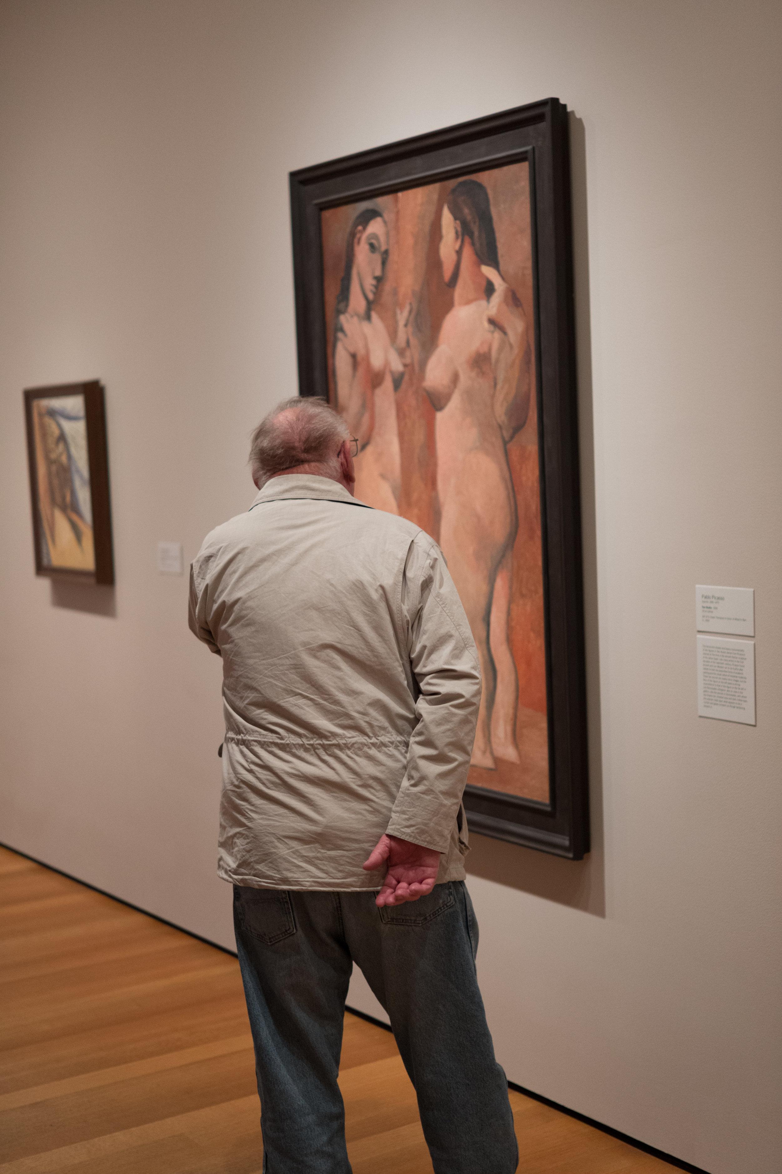 Man at the MoMA
