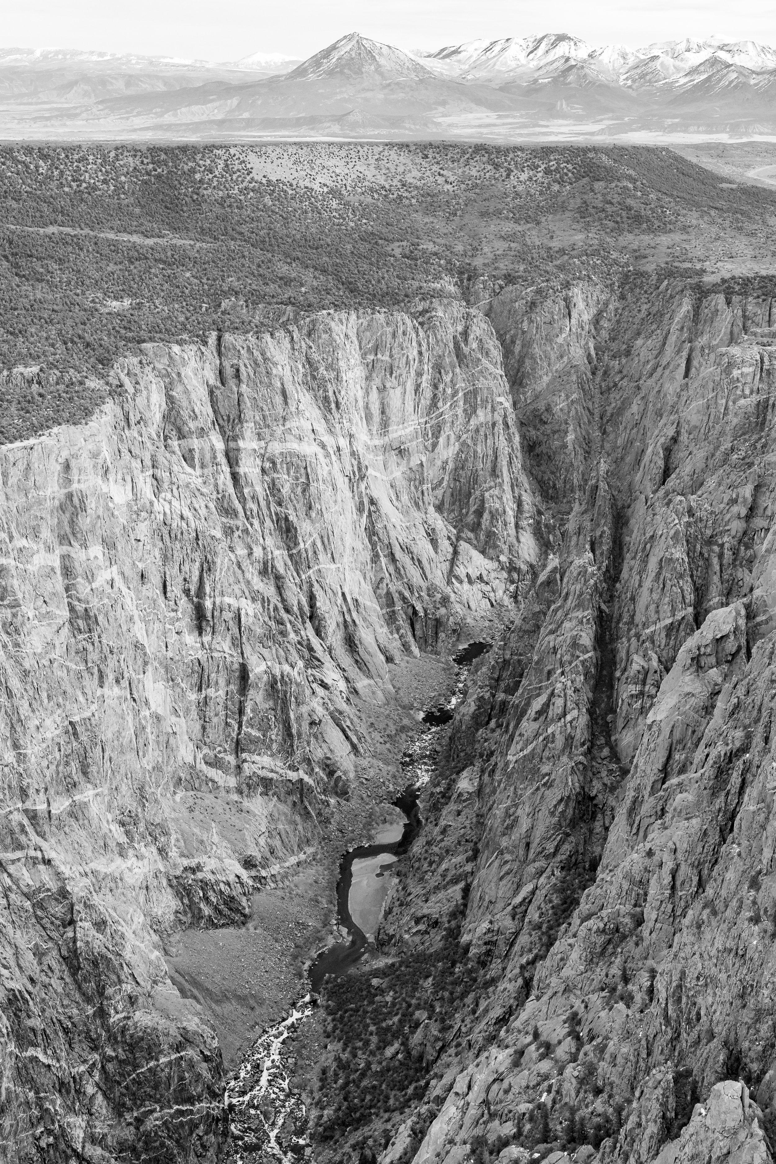 The Black Canyon of Colorado