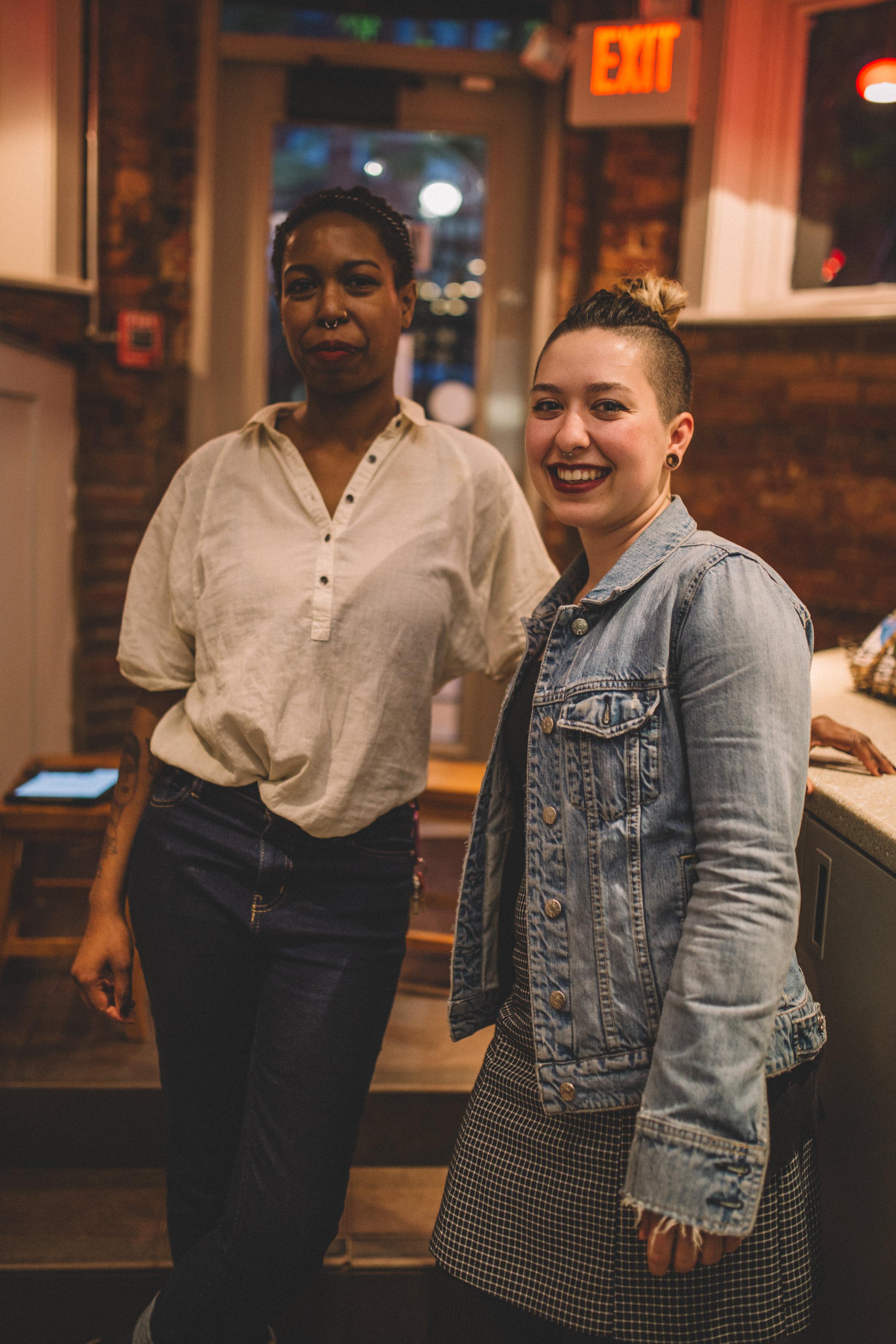 @bosintersectionalcoffeecollective   - Kristina Jackson & Becca Woodard