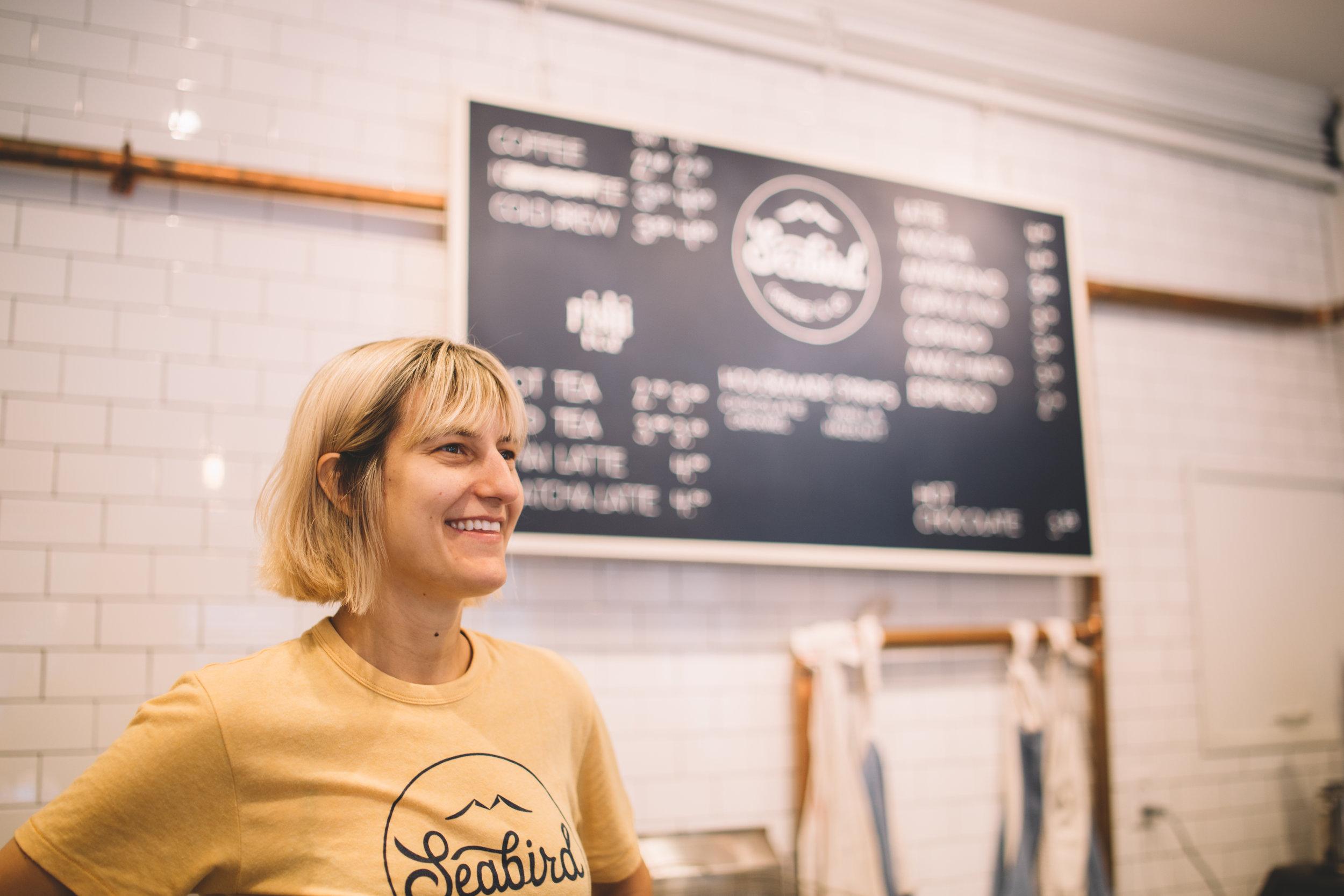 Christen Poole  - Seabird Coffee & Co