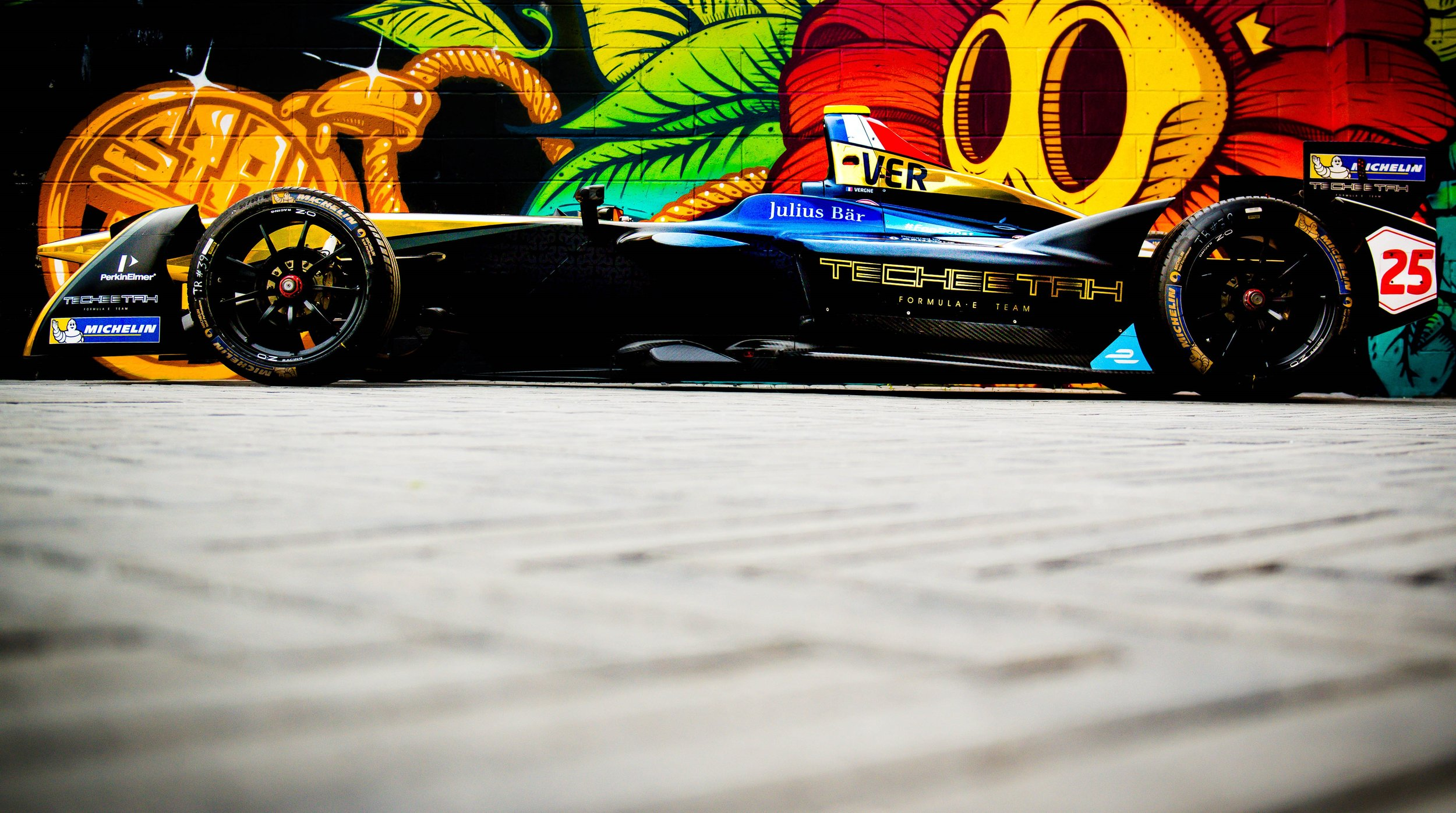 | Team: Techeetah| Car: Renault Z.E 16|| Photographer: Lou Johnson| Event: New York ePrix| Circuit: Brooklyn Circuit| Location: Brooklyn, NY| Series: FIA Formula E| Season: 2016-2017| Country: US|